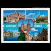 Lübeck Ansichtskarte Herz