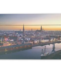 Lübeck Holzbild