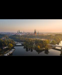 Bild Lübeck im Herbst