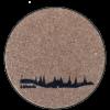 Untersetzer Lübeck Skyline
